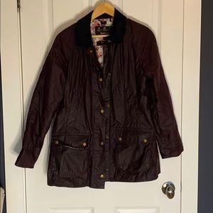 Barbour lightweight waxed cottoncanvas coat BNWOT